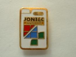 Pin's JONTEC - SYSTEME SOLS - EMAIL - Marcas Registradas
