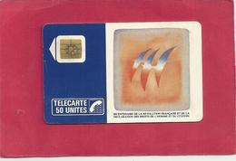 F 53 . FOLON OISEAUX DU BICENTENAIRE . 50 U .    COTE = 30 € - 1988