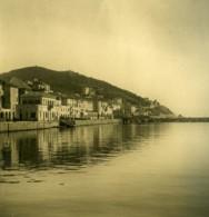 Italie Oneglia Le Port Ancienne Photo Stereo NPG 1900 - Stereoscopic