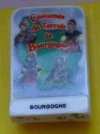 Fève    - C Debusne - Bourgogne - Plaque Logo - Costumes Du Terroir - Costume - Région