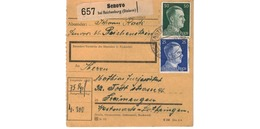 Colis Postal  -  De Senovo Bei Reichenburg ( Steierm ) - Deutschland