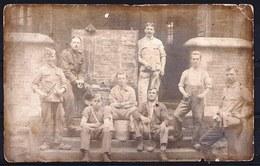 LE 25/8/1914 ** MENU DE LA TROUPE DU 5ème REGIMENT - Div. I ** SOLDATS FRANCAIS ? - Guerre 1914-18