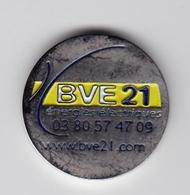 Jeton De Caddie En Métal - BVE 21 - Energies électriques à Dijon (21) - Einkaufswagen-Chips (EKW)