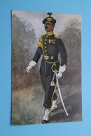 GARDEREGIMENT JAGERS Ceremoniële Tenue Adjudant-o.officier Vaandel ( N° 6 1949 Ten Hagen's ) Anno 19?? ( See Photo ) ! - Uniformes