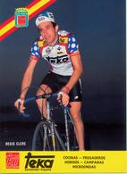 CLERE Régis FRA (Langres (Champagne-Ardenne), 29-5-'59) 1987 Teka - Cyclisme