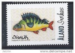 Aland 2012 N°359 Neuf Personnalisé Avec Poisson - Aland