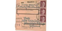 Colis Postal  -  De Ibbenbüren -  18/1/43 - Deutschland