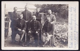 CARTE PHOTO 1914/15 VITAL NOË  4e BATAILLON 1ère Compagnie PRISONNIER MÜNSTERLAGER ( ENTRE 6000 Prisonniers De Guerre ) - Guerre 1914-18