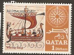 Qatar  1967  SG 222  Navigators Ships  Mounted Mint - Qatar