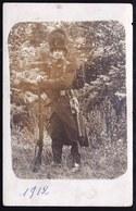 CARTE PHOTO 1912 VITAL NOË ( Grenadier De Tervuren )  4e BATAILLON 1ère Compagnie En Uniforme Juste Avant La Guerre ! - Guerre 1914-18