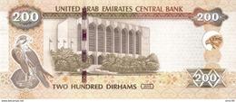 United Arab Emirates P.31c 200 Dirhams 2015 Unc - Emirati Arabi Uniti