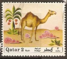 Qatar  1971 SG 354  Fauna & Flora Camel  Fine Used - Qatar