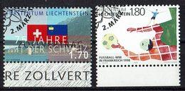 Liechtenstein 1998 // Mi. 1171/1172 O - Liechtenstein