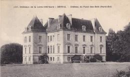44.  DERVAL. . CPA. CHATEAU DU FOND DES BOIS. + TEXTE. ANNÉE 1947 - Derval