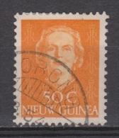 Nederlands Nieuw Guinea 16 Used ; Juliana 1950 ; NOW ALL STAMPS OF NETHERLANDS NEW GUINEA - Nederlands Nieuw-Guinea