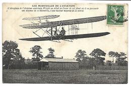AVION - Les Merveilles De L'Aviation - L'Aéroplane De L'aviateur Américain Wright - ....-1914: Précurseurs