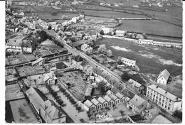 71 BLANZY Vue Aérienne Ecole De Garçons Quartier De Savigny  CPM Glacée NB  10 X 15 écrite En 1959 - Sonstige Gemeinden