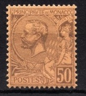 MONACO 1885 / 1914  - Y.T. N°  18 - NEUF** / 5 - Monaco