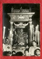 PS54---ANTICA CARTOLINA VIAGGIATA 1955 CON VERA FOTO--( CATANIA--FERCOLO DI SANT'AGATA )--- - Catania