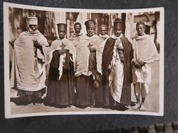 IT  - ERYTHREE - ERITREA - ASMARA  - PRETI COPTI Casci - PRETRE COPTE ( ORTHODOXE ) - Eritrea