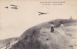 10 ROMILLY (ENVOYE DE). LE HAVRE.MEETING DE LA BAIE DE SEINE.  ANIMATION COTE DE LA HEVE. + TEXTE ANNEE 1947 - Meetings