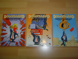 DOGGYGARD / TOMES 1 A 3 / EDITIONS ORIGINALES / EO - Lotti E Stock Libri