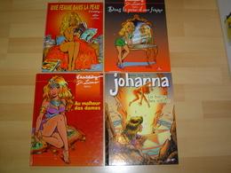 JOHANNA / TOMES 1 A 4 + CARNET DE CROQUIS / EDITIONS ORIGINALES / EO - Books, Magazines, Comics