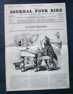 Le Journal Pour Rire, Le Surnuméraire Dessin Bertall, 22 Octobre 1853 - Journaux - Quotidiens
