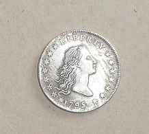 1 Dollar Liberty 1795 USA Copie Forgery - Emissioni Federali