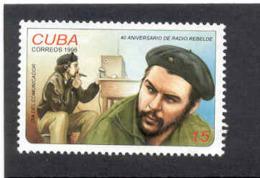 "Cuba 1998 ""Radio Rebelde,"" 40th Anniv. Che Guevara.  MNH. Scott 3904. Value $0.65 - Cuba"