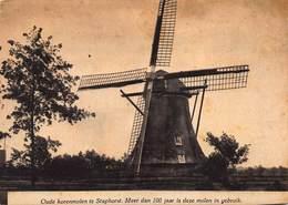 Windmolen Molen  Oude Korenmolen Te Staphorst Nederland Overijssel    K 1 - Windmolens