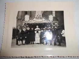 Ancienne Photo De Lestrem (pas-de-calais) Prêtre , Soeur - Lieux
