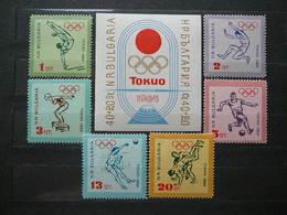 Olympic Games  Summer Tokyo # 1964 Bulgaria MNH # - Summer 1964: Tokyo