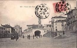 CPA BRA - Piazza Della Rocca - Cuneo