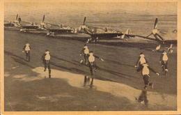 Aviation, Grande Bretagne, Une Alerte A L Escadrille De Chasse, Croix De Lorraine    (etat Voir Photos) - Aviation
