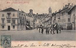 CPA BRA - Piazza Carlo Alberto - Cuneo