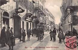 CPA BRA - Via Vittorio Emanuele ( Dalla Via Cavour ) - Cuneo