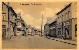 Ichtegem  Eernegem De Statiestraat Stationsstraat  Bieren Zeeberg  Reclame        K 10 - Ichtegem