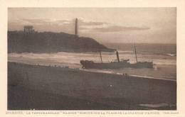 Anglet Biarritz Navire échoué - Anglet