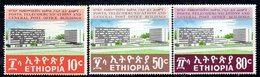 ETP158 - ETIOPIA 1970 ,  Yvert  N. 577/579   *** MNH  POSTE - Ethiopia