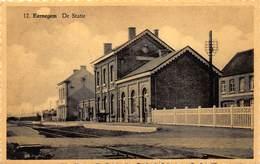 Ichtegem  Eernegem     De Statie  Station Perron     K 18 - Ichtegem