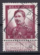 N° 122 : Chemin De Fer   COB 32.50 - 1912 Pellens