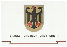 Bondsrepubliek Duitsland / Deutschland FDC Booklet Einigkeit Und Recht Und Freiheit 1990 2x FDC LOOK SCANS - FDC: Vellen
