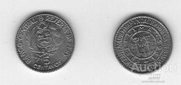 Peru - 5 Centavos 1965 AUNC Lemberg-Zp - Perú