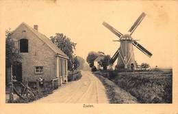 Windmolen Molen   Zoelen Gelderland Buren    UItgever De Mijs Tiel Gelderland        K 24 - Moulins à Vent