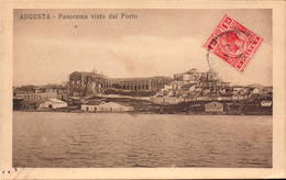 Italie, Sicile, Augusta, Panorama Visto Dal Porto       (bon Etat) - Italia