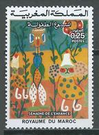 Maroc YT N°732 Semaine De L'enfance Neuf ** - Marocco (1956-...)