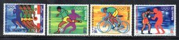 ETP170 - ETIOPIA 1972 ,  Yvert  N. 635/638 *** MNH  MONACO - Ethiopia