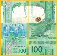 Aruba 100 Florin P-new 2019 UNC Banknote - Aruba (1986-...)
