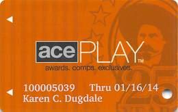 ACE Rewards Casino Slot Card - Casino Cards